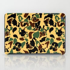 Frenchie Camouflage iPad Case