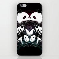 PANDA COLLIDE iPhone & iPod Skin