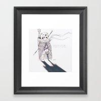 Lostboy Framed Art Print