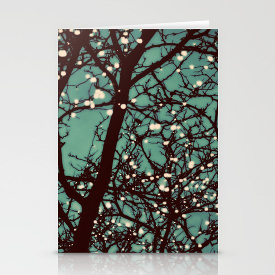 Night Lights Stationery Card