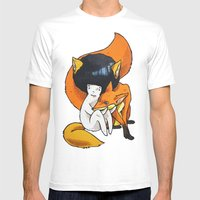 Fox Trot Mens Fitted Tee White SMALL
