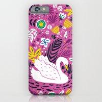 Delightful Swan iPhone 6 Slim Case