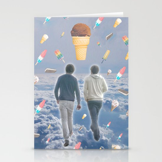 Bill & Nick's Ice Cream Adventure! Stationery Card