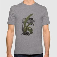 Untitled.6 Mens Fitted Tee Athletic Grey SMALL
