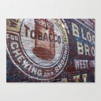 West Virginia Tobacco Canvas Print