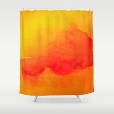 Summer Heat  Shower Curtain
