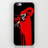 The Masque Of The Red De… iPhone & iPod Skin