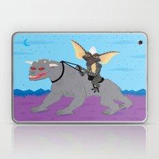 The Halloween Series - Stripe Rides Zuul Laptop & iPad Skin