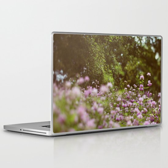 Among the Wildflowers Laptop & iPad Skin