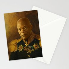 Samuel L. Jackson - replaceface Stationery Cards
