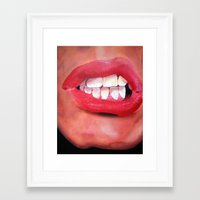 Oral Fixation 1.1 Framed Art Print