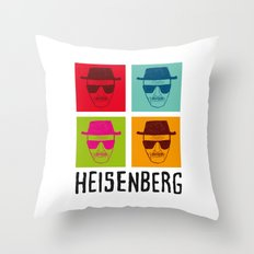 Heisenberg Popart Throw Pillow