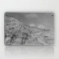 Laptop & iPad Skin featuring Eroding Graffiti Cliff by Leah McPhail