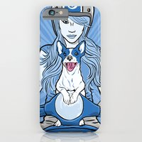 iPhone & iPod Case featuring Scooter Girl by Matt Willis