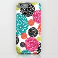 Tropical Flowers iPhone 6 Slim Case