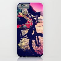 iPhone & iPod Case featuring Unknown Racer by MikeyNiverson