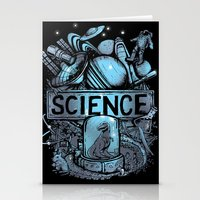 science Stationery Cards featuring Science by Crumblin' Cookie