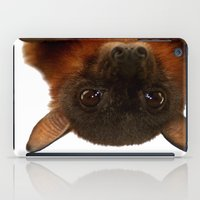 Little Red Flying Fox Hanging Out  iPad Case