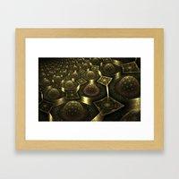 Magnetic Fields Framed Art Print