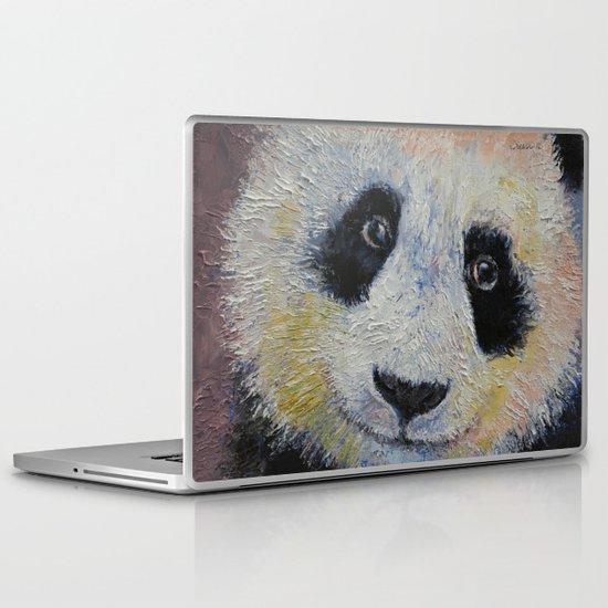 Panda Smile Laptop & iPad Skin