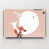 Fox and Whale iPad Case