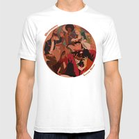 Lovely Circle Mens Fitted Tee White SMALL