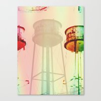 opg water tower Canvas Print