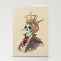 I LOVE THE KING Stationery Cards