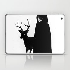 Absentia in white Laptop & iPad Skin