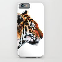 iPhone & iPod Case featuring Sumathra Tiger by maxandr