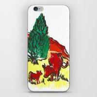 Big Moo, Wee Moo (colore… iPhone & iPod Skin