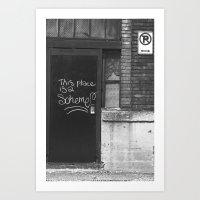 Scheme Art Print