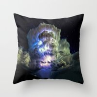 Music Of The Spheres VI Throw Pillow