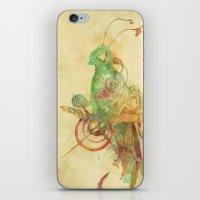 Quetzall II iPhone & iPod Skin