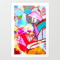 Graffitious Art Print