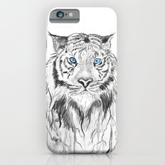 Tiger, black and white iPhone 6 Slim Case