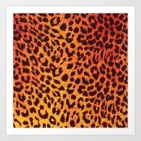 Leopard Pattern Art Print