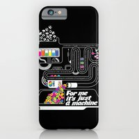 iPhone & iPod Case featuring It's just a machine by Tshirtbaba