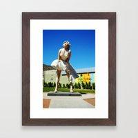 Giant Marilyn Framed Art Print