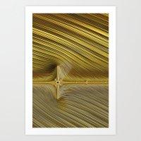 Flatline Art Print