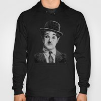 Chaplin portrait - Fingerprint Hoody