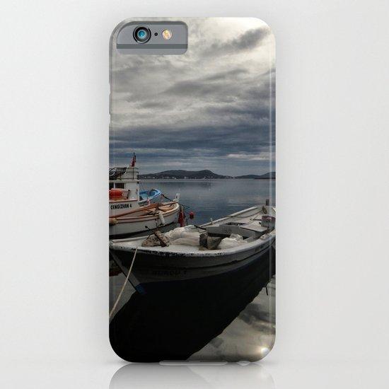 boat reflection iPhone & iPod Case
