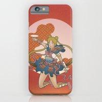 Samurai Moon iPhone 6 Slim Case