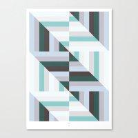 Maze | 60s Canvas Print