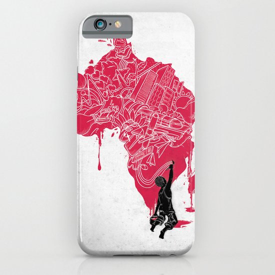 RE | Draw AFRIKA iPhone & iPod Case