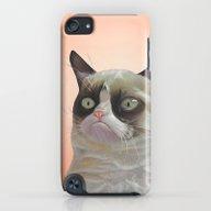 iPhone & iPod Case featuring Grumpy-cat-Orange by Beart24