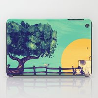 Cow Sunset iPad Case