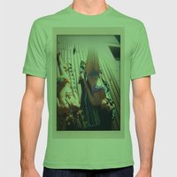 Summer Days Mens Fitted Tee Grass SMALL