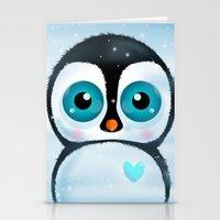 Joc The Penguin Stationery Cards