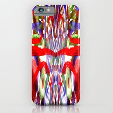Color and lines in space Slim Case iPhone 6s
